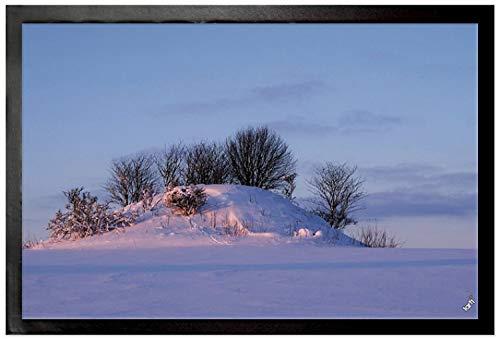 1art1® Invierno - Paisaje De Nieve In Resplandor