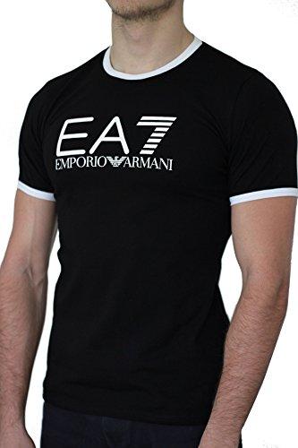 Emporio Armani Camiseta EA7 Hombre Manga Corta Negro Negro Small