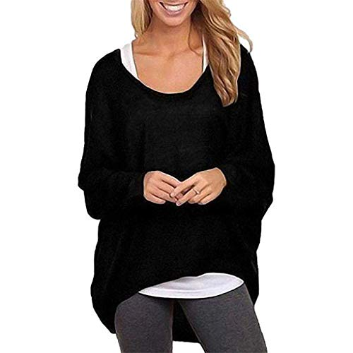 ESAILQ Bekleidung Damen nicht zutreffend t- shirt schwarz L