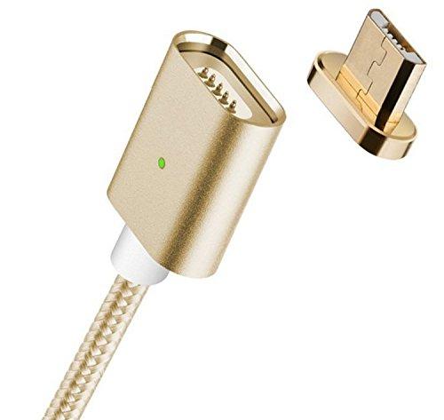 Qprods - Câble micro USB connecteur magnétique. Pour chargement et transfert de données avec...