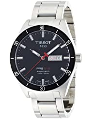 Tissot PRS516 T0444302105100 - Reloj de caballero automático, correa de acero inoxidable color varios colores