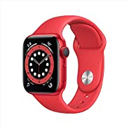 AppleWatch Series 6 (GPS + Cellular, 40mm) - PRODUCT(RED) - Aluminium Case with PRODUCT(RED) - Sport Band