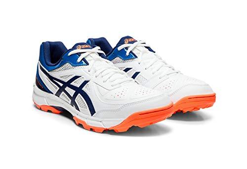 ASICS Men's White/Blue Expanse Cricket Shoes-9 UK (44 EU) (10 US) (P613Y)