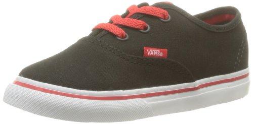 Vans T AUTHENTIC blk Sneaker, Unisex Bambino Nero (Pop Black/Tru)