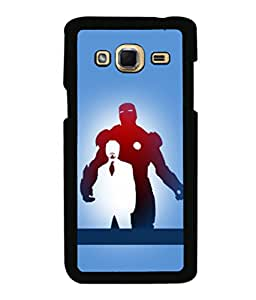 printtech Superhero Avengers Back Case Cover for Samsung Galaxy J3 Pro
