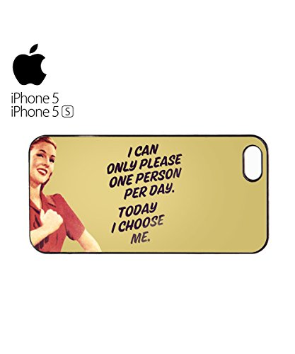 I Can Only Please One Person Per Day Today I Choose Me Mobile Phone Case Cover iPhone 6 Plus + White Blanc