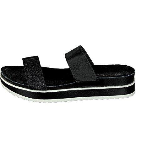 LINEA SCARPA Salerno Mule chaussures décontractées femmes Noir