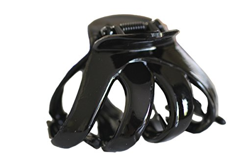 Haarkralle Oktopus Clip Schmetterling Bulldoggen Design Plastik - , Schwarz