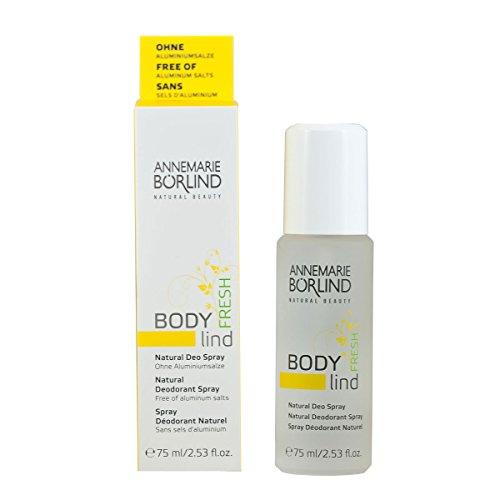 Annemarie Börlind Body Lind Fresh femme/women, Natural Deodorant Spray, 1er Pack (1 x 75 ml)