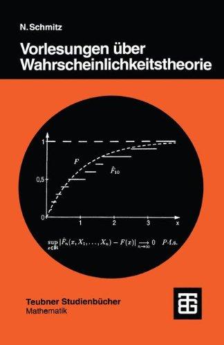 Vorlesungen über Wahrscheinlichkeitstheorie (Teubner Studienbücher Mathematik)