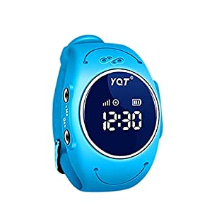 BJESSENCE 1PC Q520S Smart Watch Phone Kids GPS Tracker Emergency Alarm Anti-lost Alarm IP68 Waterproof Multipurpose Wristwatch Bracelet Child's birthday present Kids gift