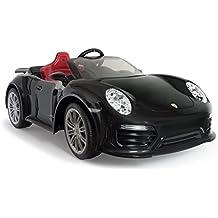 INJUSA-7184 Coche Porsche 911 Turbo S A Batería Color Negro (7184