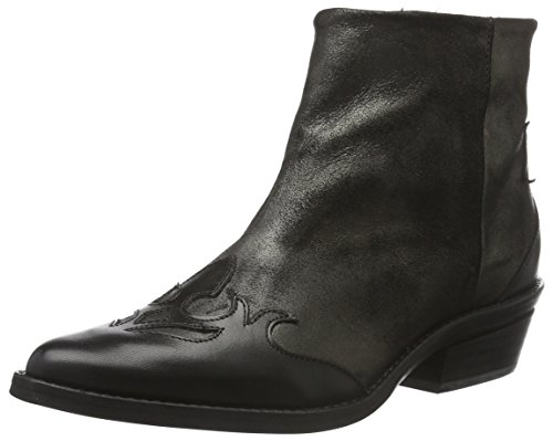 Bronx Damen Carter Pumps Mehrfarbig (black/old silver 1151)