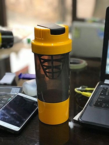 Myshake Cyclone Protein Shaker Bottle with Compartment 450ml