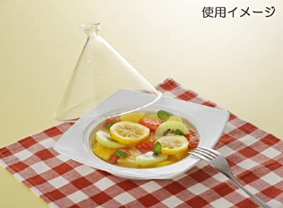 Range only dream tagine pot (corner) 20cm glass lid white ID-21-26 (Japan import / The package and the manual are written in Japanese)