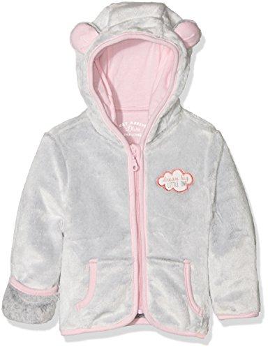 s.Oliver Baby-Mädchen Sweatshirt /Sweatjacke, Grau (Grey Melange Multicol.St 91s1), 62