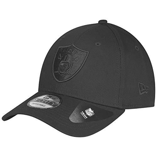 New Era 9Forty Snapback 2 Adjustable Cap Oakland Raiders Schwarz Schwarz, Size:ONE Size -
