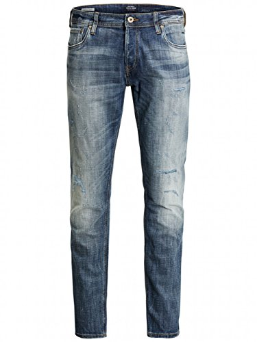 Jack & Jones Jjiglenn Jjoriginal Ge 988 Noos, Jeans Homme Bleu (jeans)