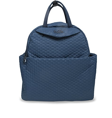 tots-by-smart-rike-100-203-infinity-changing-bag-nappy-bag-mommy-bag-38-x-18-x-38-cm-blue-quilt