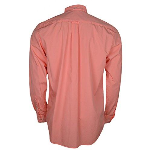 Gant Herren Blouson Freizeit-Hemd Orange