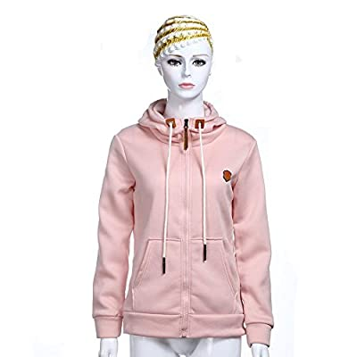 Yourig Daily Straw Rope Long Sleeve Pocket Hoodies Coat with Hat