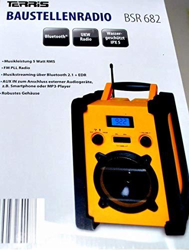 Terris Bluetooth Baustellenradio BSR 682