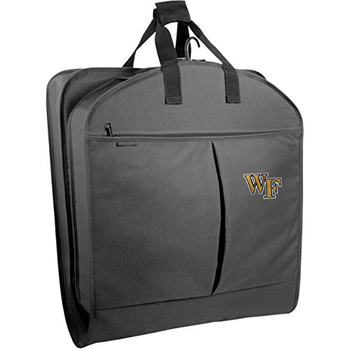 wallybags-wake-forest-demon-deacons-40-suit-length-garment-bag-with-pockets-black-wf