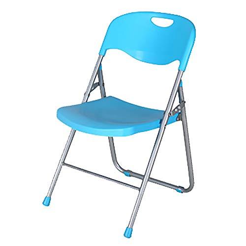 LIPAI Klappstuhl Kunststoff Metall Back Office Chair Tragbare Dinette Esszimmerstuhl Training...