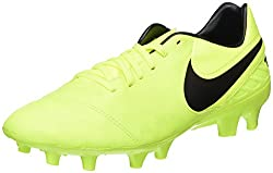 Nike Mens Tiempo Mystic V Fg Volt/Black Volt Soccer Cleat 9. 5 Men US