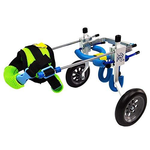 LXFKinderwagen für Haustiere Hunde-Rollstuhl/Hundscooter/Reha-Trainingswagen/aus dem tragbaren Einfaches Falten mit abnehmbarer Unterlage, Ablage (größe : L)