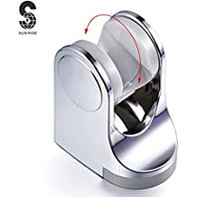 S R SUNRISE Soporte de ducha ABS Color Cromado Soporte de Alcachofa para Ducha SUN3030