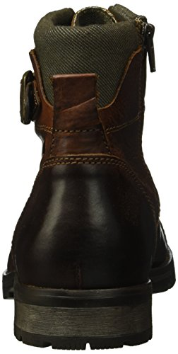 Jack & Jones Albany, Bottes Rangers Homme Marron (Brown Stone)