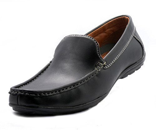 Bata Men's Black Remo 6380 Slip On (9) image - Kerala Online Shopping