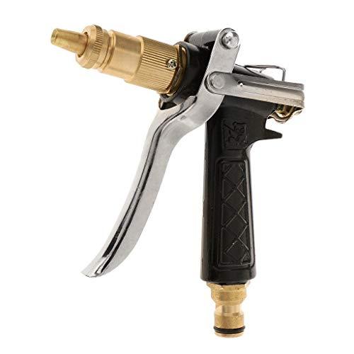 tech traders® -  pistola multi-getto per pompa d'irrigazione, funzione a spruzzo con ugello atomizzatore, super resistente