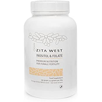 Zita West Inositol and Folate - Myo-Inositol and L-Methyl