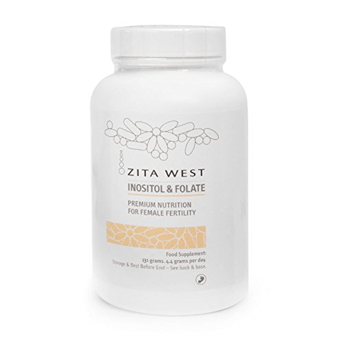 Zita West Inositol and Folate - Myo-Inositol and L-Methyl Folate  Research  Suggests it May Help with Ovulation for Women with PCOS and with Egg