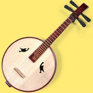 Hochwertige Neuware Instrument Chinesischen Laute Gitarre Mit Zhongruan/Zubehör (Klammer String Gitarre)