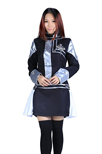 De-Cos D.Gray-Man Cosplay Costume Lenalee Lee Exorcist Uniform 1st Ver Set