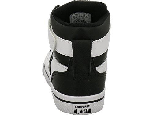Converse Unisex-Kinder Pro Blaze Hohe Sneaker White/Black