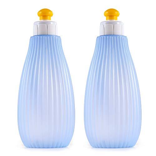 CROING (2 PCS) Bidet Portatile Bottiglia con Sacchetto di plastica per Viaggio