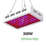 Das Ganze Spektrum 300W LED Pflanzenlampe Wachsen Lampe Vollspektrum Für Innen Samen/Knospe/Pflanze Gemüse Und Blume (Material: Aluminiumlegierung)