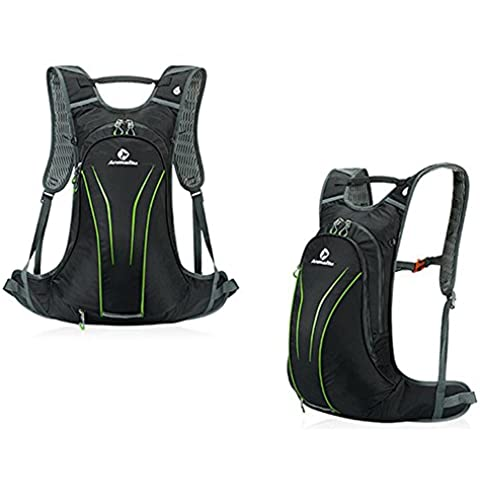 20L mochila ciclismo - Anti-grieta hombro antideslizante transpirable bolsa mochila iParaAiluRy