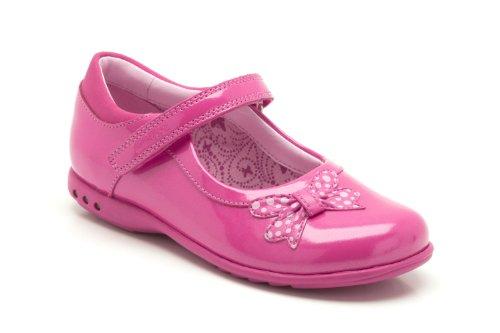 Clarks, Mädchen Ballerinas  Rosa Rose - rose Child UK 12.5 F