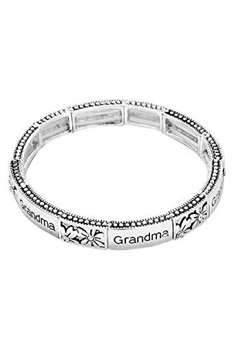 colecciones-de-rosemarie-mujer-grandma-floral-filigrana-stretch-pulsera-grandmas-bendicion
