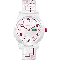 Lacoste White Dial Multiple Color Silicone Watch - 2030009