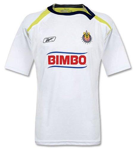 a51c56805e58f Chivas de Guadalajara Away fútbol Jersey - ACMF7304-100 L, Blanco