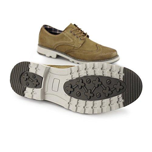 Chatham Marine Chase - Chaussures À Lacets En Cuir Brun Clair