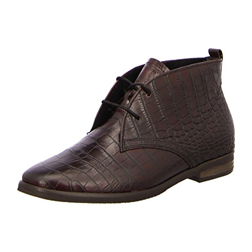 GABOR SHOES COMFORT 32.656 Damen Derby Schnürhalbschuhe - Schuhe in Übergrößen Bordo