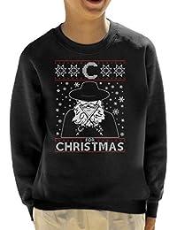 C For Christmas V For Vendetta Kid s Sweatshirt 0fda2f588a6