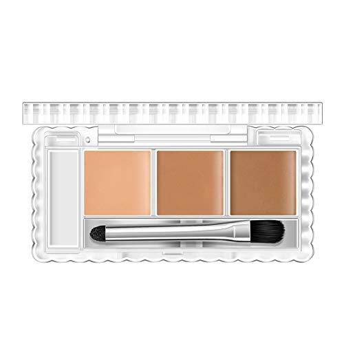 Allbesta Palette Correcteur 3 couleurs Pro Contour de maquillage crème correcteur de couleur des cercles sombres Anti-tâches et correcteurs